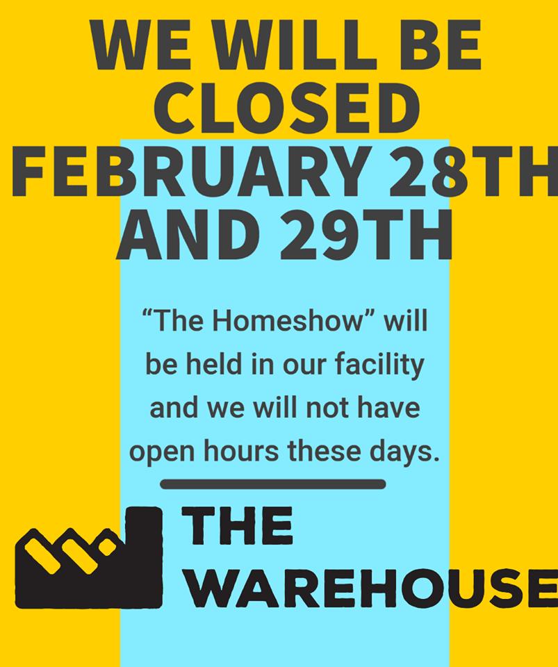 closed homeshow